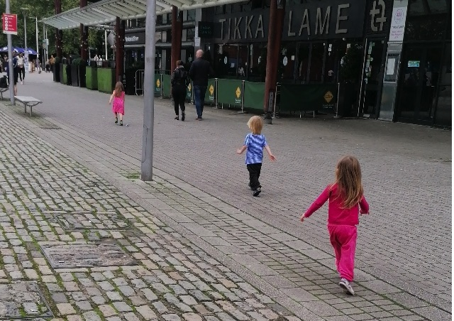 Gentle Parenting Taking 3 Toddlers Out